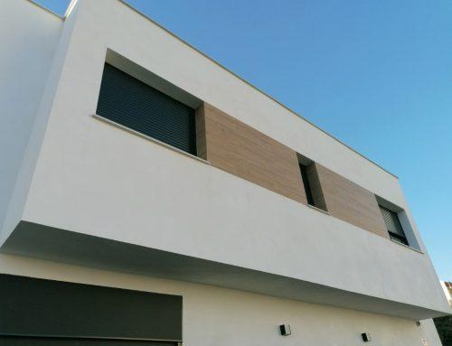 Vivienda unifamiliar de estilo moderno en Sueca, Valencia.